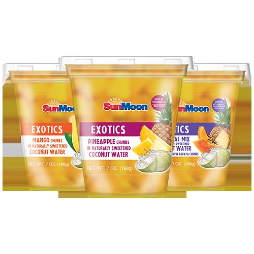 SunMoon Fruit Cups (Exotics) 7oz